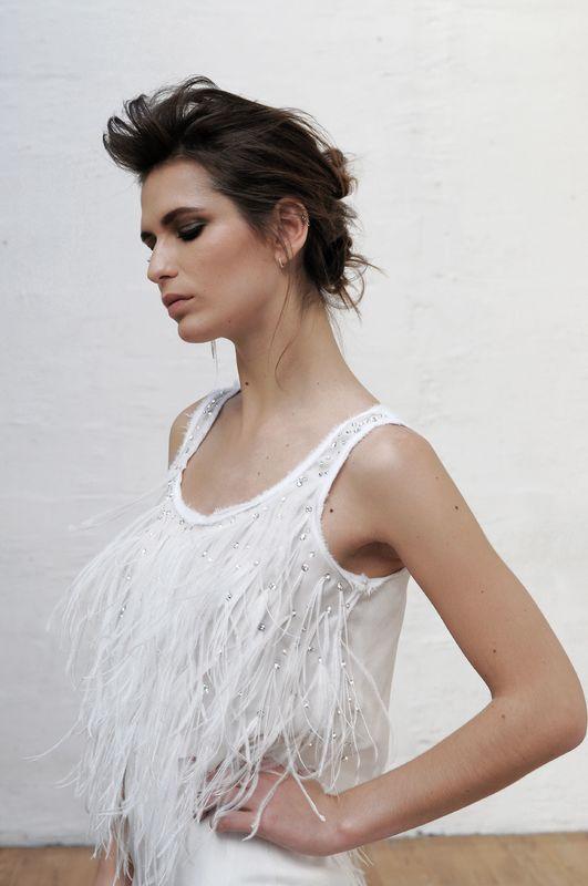 Robe de mariée Laurent Kapelski 2017