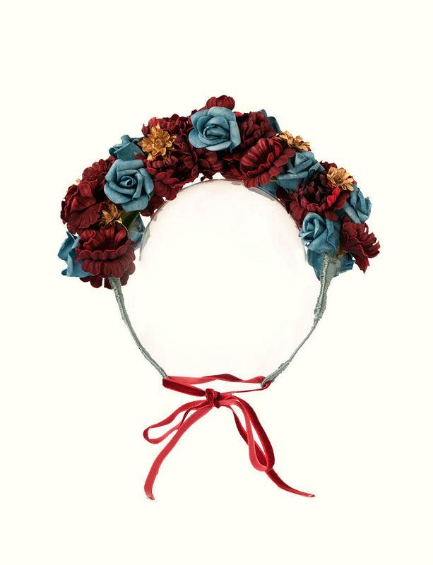 Diadema Fibonaccia Cantuc Tocados Precioso para novia