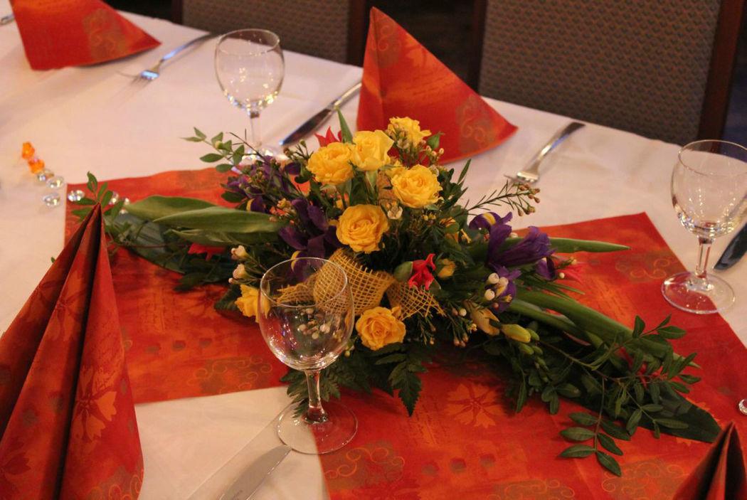 Beispiel: Klosterstube Dekoration, Foto: Hotel Restaurant Klosterhof.
