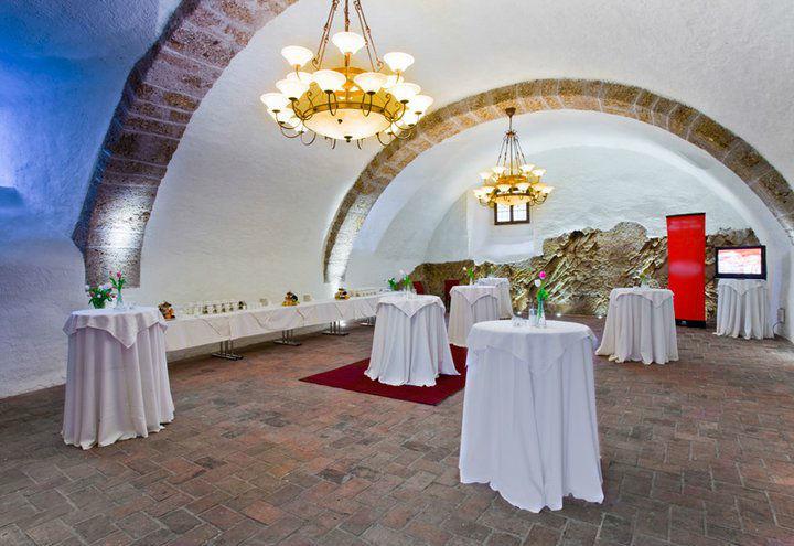 Beispiel: Sektempfang, Foto: Schloss Mattsee.