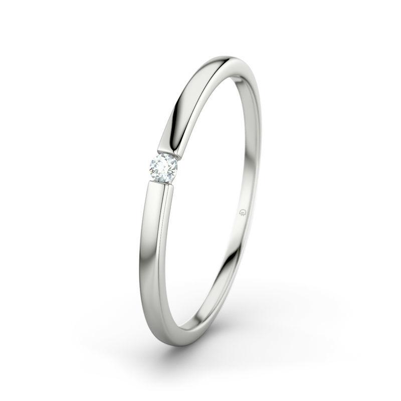 Beispiel: Leah RI3317 - Weißgold, Diamant, Foto: 21 Diamonds.