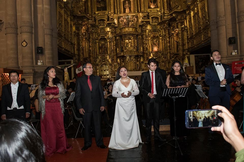 Soprano: Gladis Huamán Chávez
