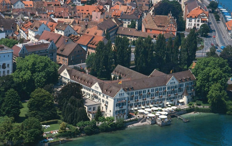 Beispiel: Luftaufnahme, Foto: Steigenberger Inselhotel Konstanz.