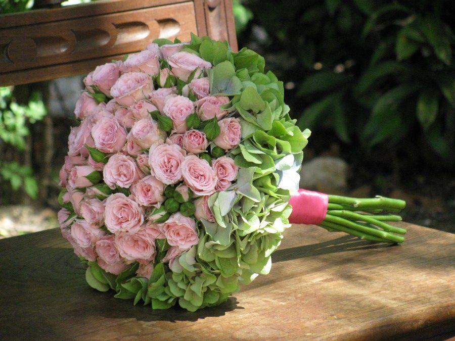 Bouquet de Noiva Hortense e Rosas