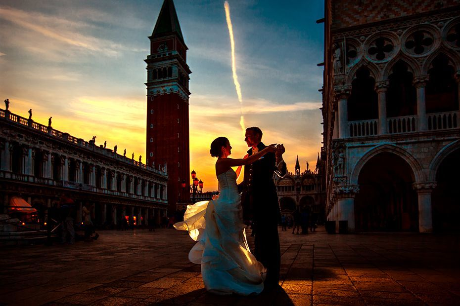 Als Hochzeitsfotograf in Italien, Venedig - Piazza San Marco - RAMAN-PHOTOS