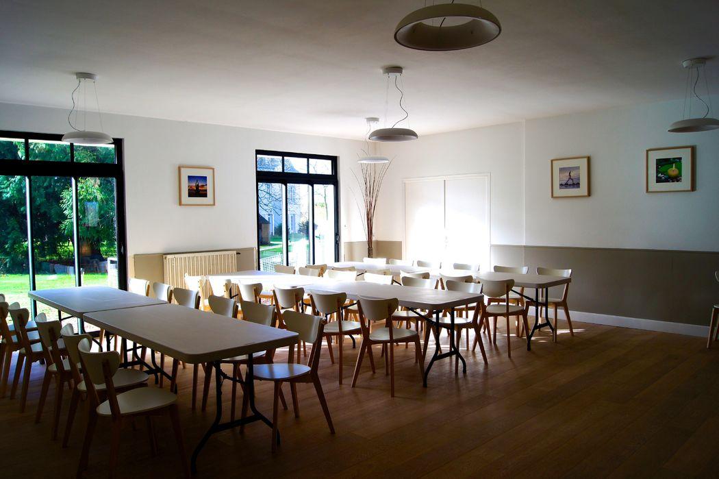 Une salle pour les enfants ou les petits déjeuners
