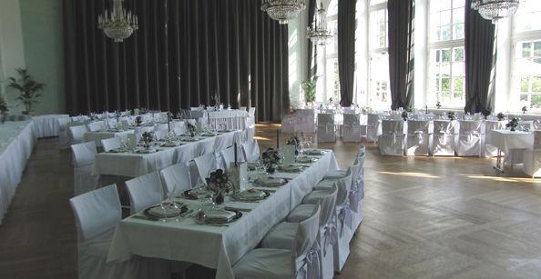 Beispiel: Festliche Säle für Ihr Hochzeitsfest, Foto: Café -Restaurant Orangerie.