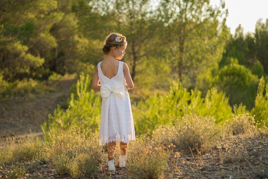 Kaa Couture modèle robe de cortège enfant SPECULOOS