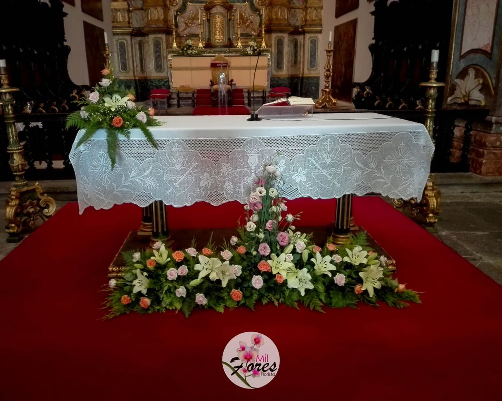 Altar | Lisa & Johan