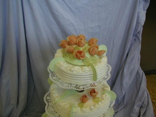 Beispiel: Hochzeitstorten mit Geschmack, Foto: Wunschtorte.
