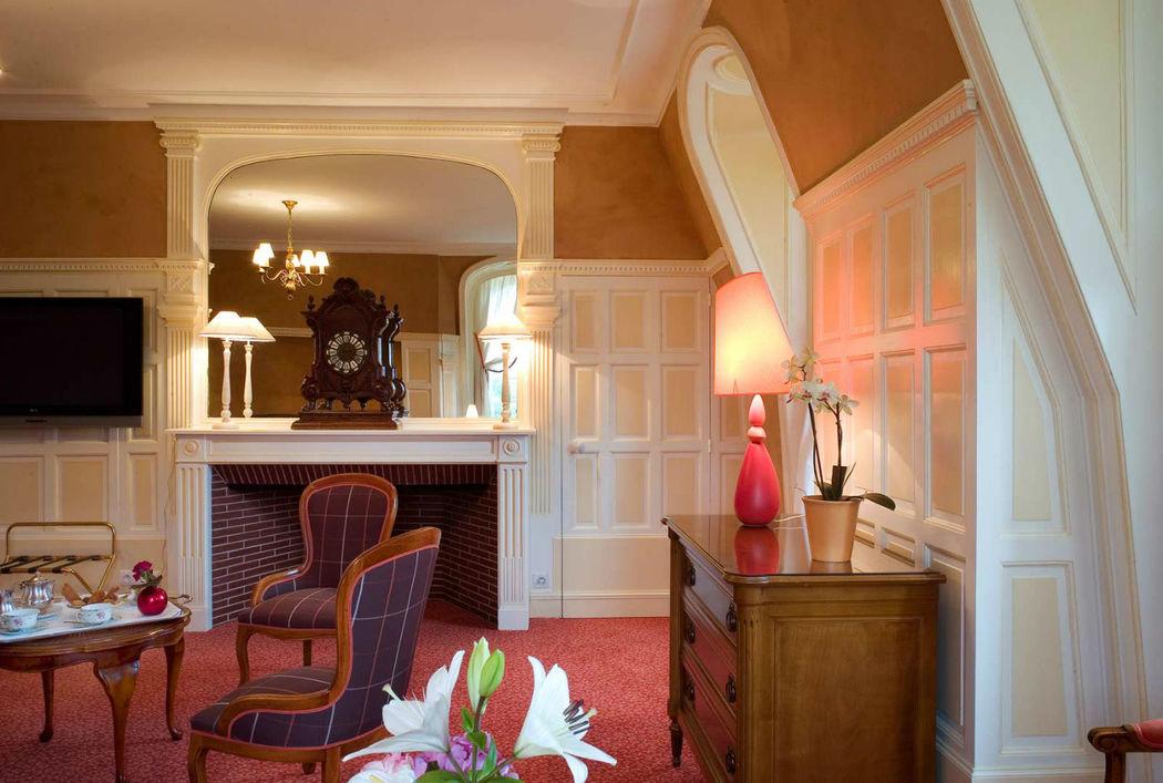 Chambre Château de Beaulieu