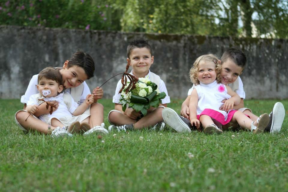Robe Naya, bretelles Rafaël, bermuda Paulo & tunique Enzo