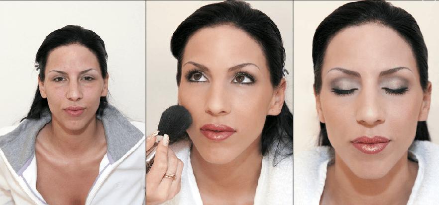 Beispiel: Styling für Ihren schönsten Tag, Foto: Beauty Art Team.
