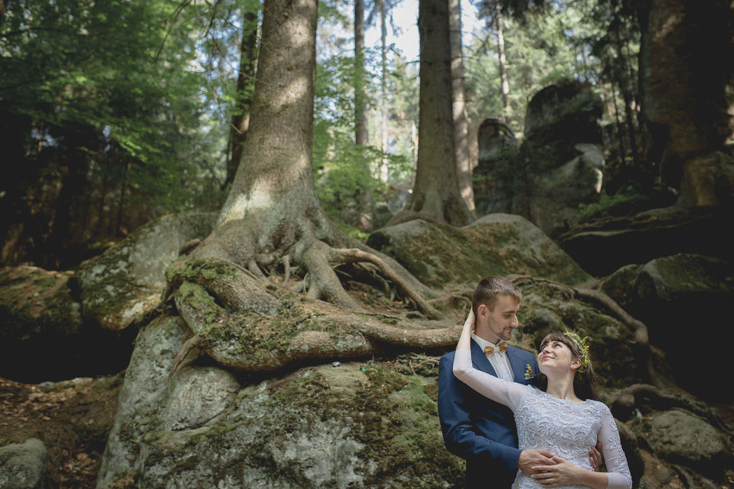 Ślubna historia - fotografia i film