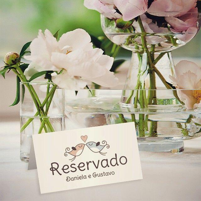 Cartão para reservar - Quem Casa Quer