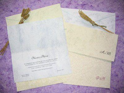 La cigüeña de papel, invitaciones
