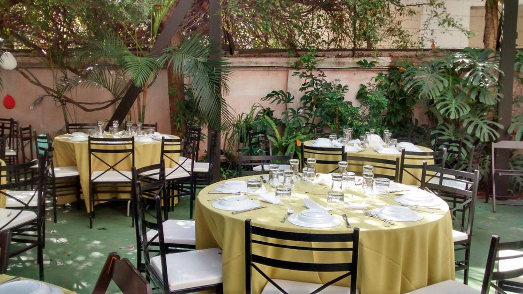 Almoço ou jantar no Jardim