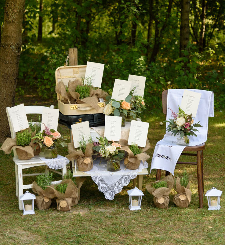 Matrimonio Tema Rustico : Luminal park matrimonio
