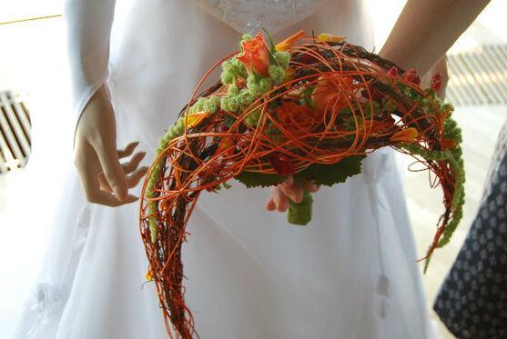Beispiel: Hochzeitsfloristik, Foto: manufactura florale.