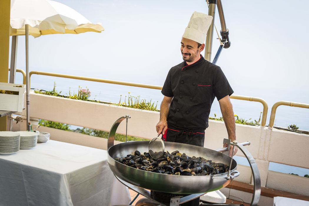 Grand Hotel Pianeta Maratea - il buffet    - photo: http://www.ndphoto.it/