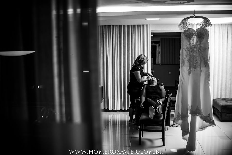 Homero Xavier Fotografias -Fotos making of noiva