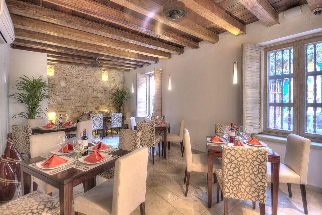 Bajo un estilo propio, este exclusivo restaurante ideal para  velada romántica.