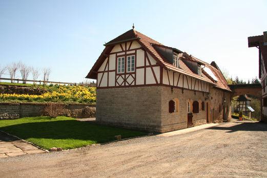 Beispiel: Remise, Foto: Schloss Neuhaus.