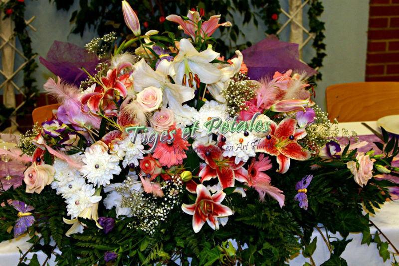 Bouquet - Tiges et Pétales