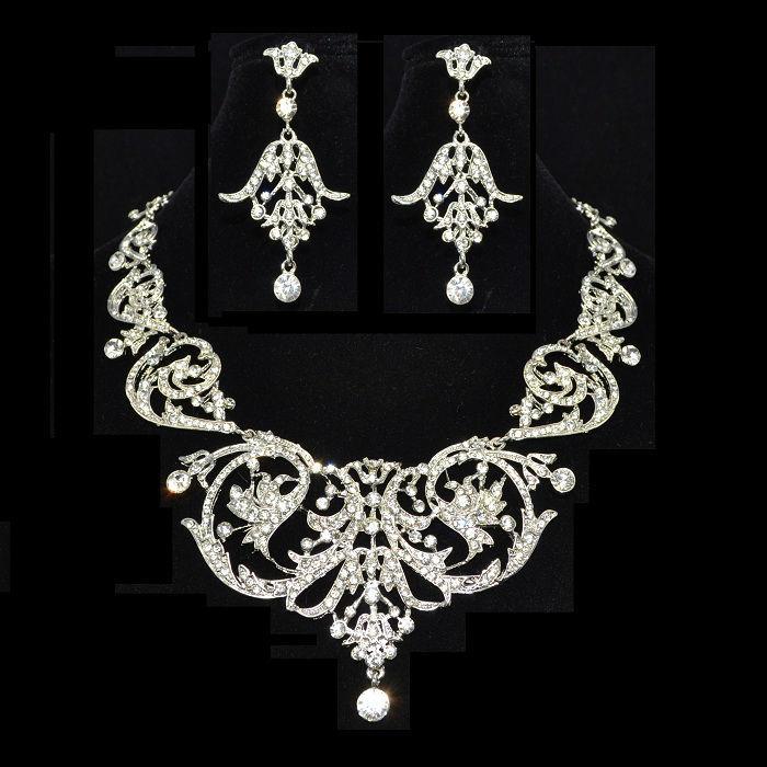 Parure de bijoux Tanaïs- Bijoux de Mariage