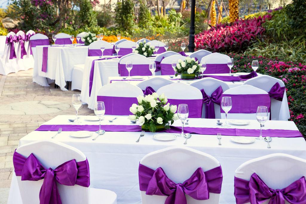Beispiel: Hochzeitsbankett, Foto: Juketec.