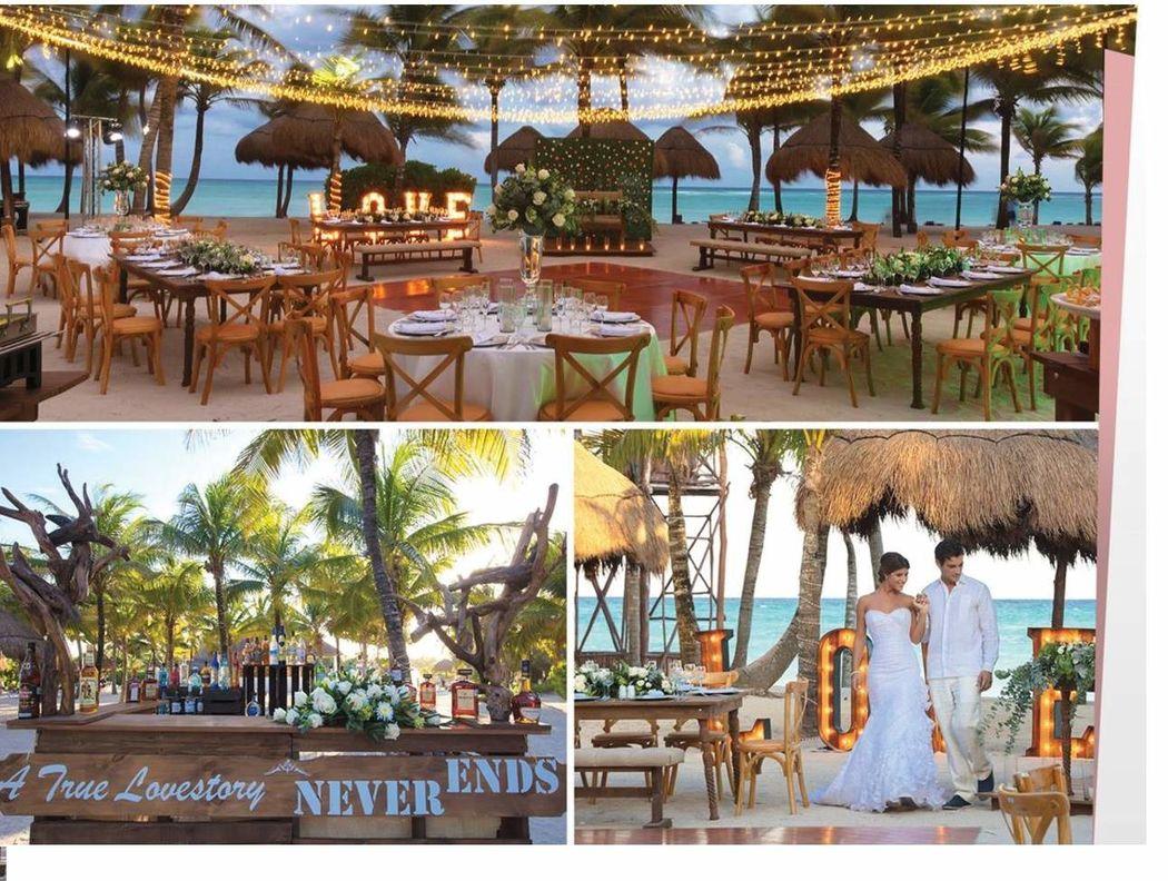 Bodas en Playa Cancún & Vallarta
