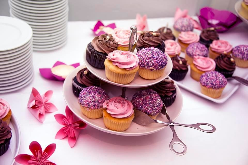 Wir machen Cupcakes