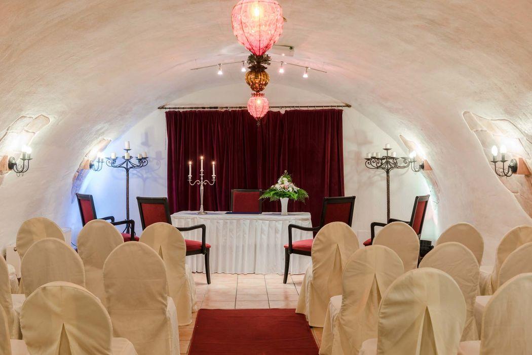 Gewölbekeller Burg Weisenau