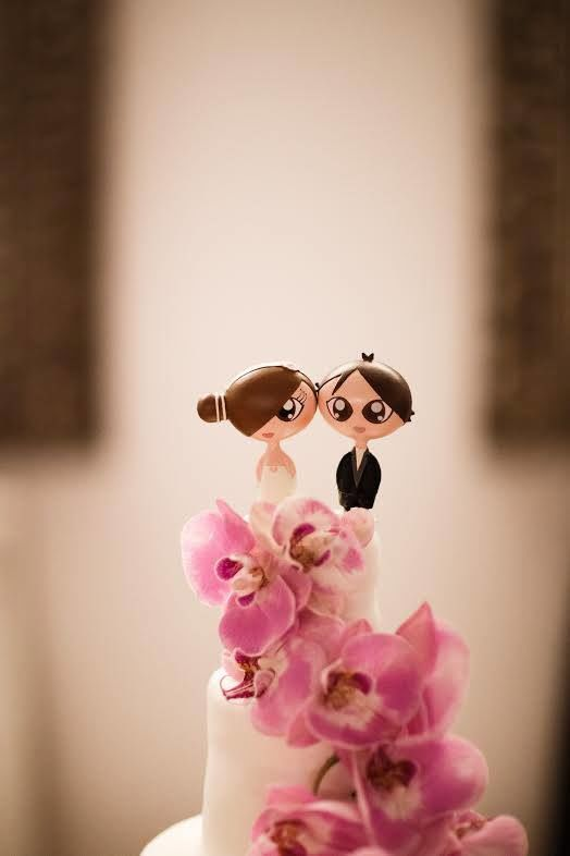BOONI® Cake Toppers by Molde Design Weddings [Fotografia por: Menino Conhece Menina®]