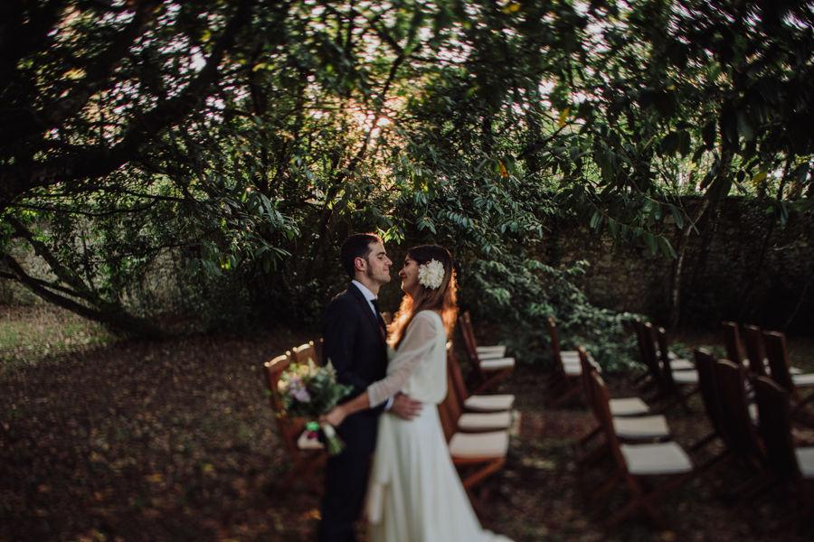 boda en pazo de Sergude
