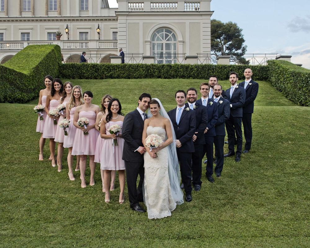 American wedding in Rome