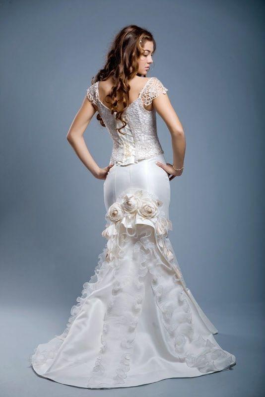 Robe de mariée couture FLOWERLACE
