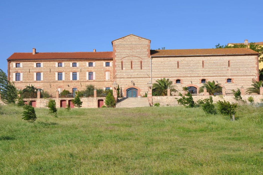La façade du Domaine Belric