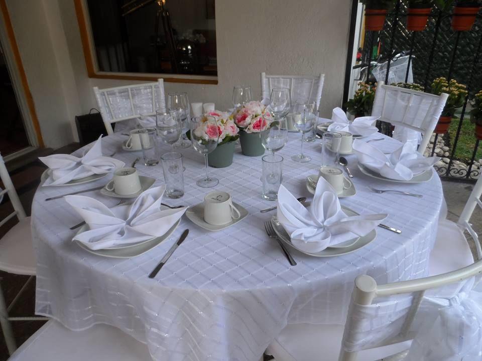 Mesa para desayuno