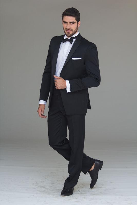 Tuxedo Negro Faja Humita