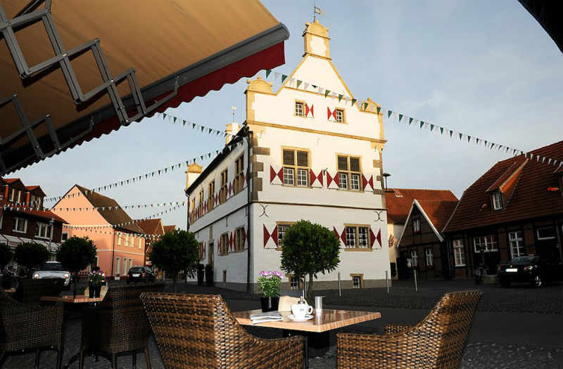 Beispiel: Blick von der Terrasse, Foto: AKZENT Hotel Tietmeyer.