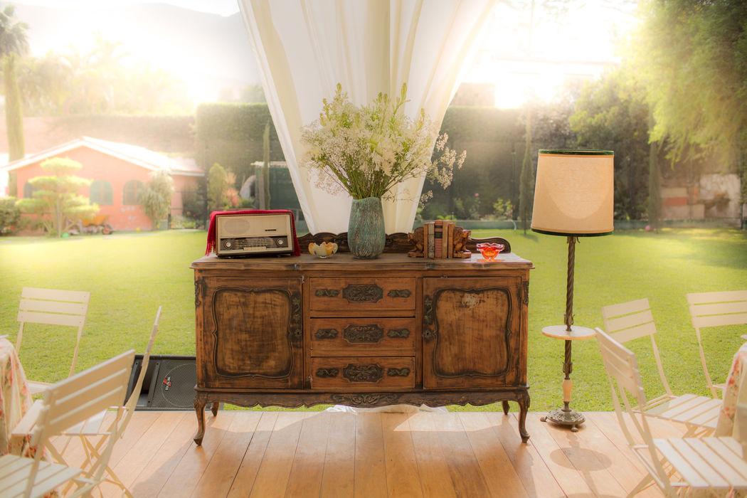 Muebles decorativos