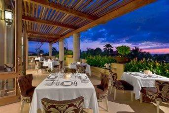 Terraza del Restaurante Carolina