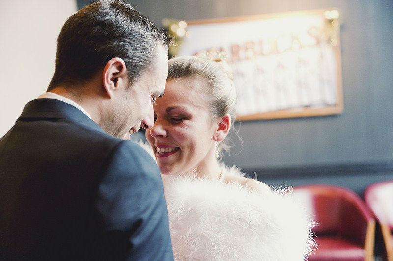 Mariage d'hiver à Lyon