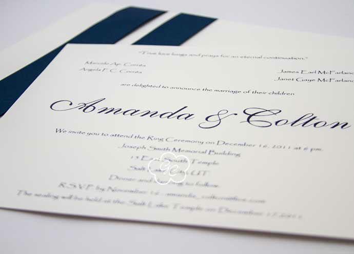 convite de casamento modelo 11