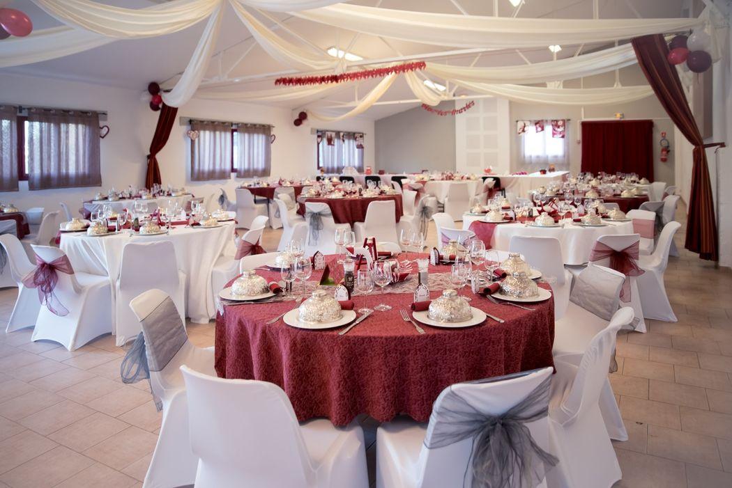 La salle de mariage montpellier Photo par : Audrey Gleizes Photographe  www.audreygleizes-photographe.com