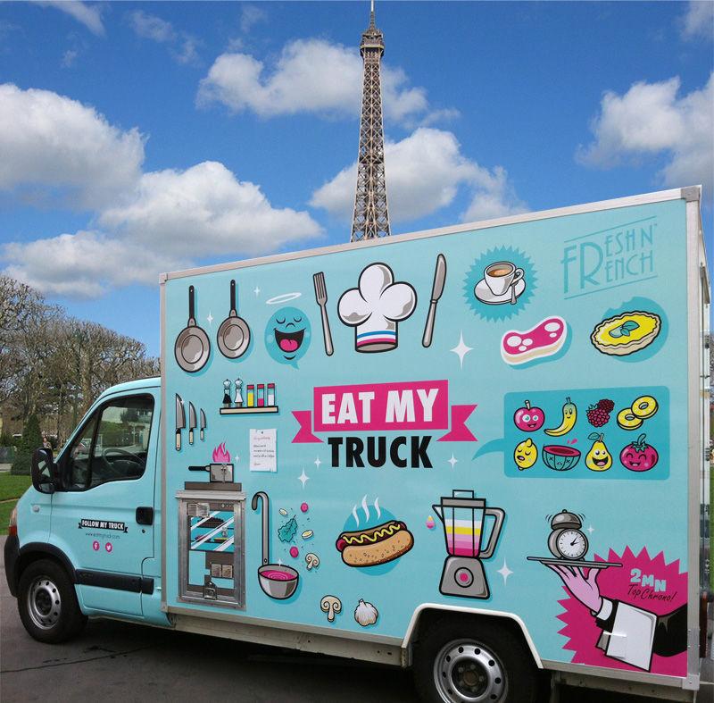 Eat My Truck - Le Hot Dog Gastronomique