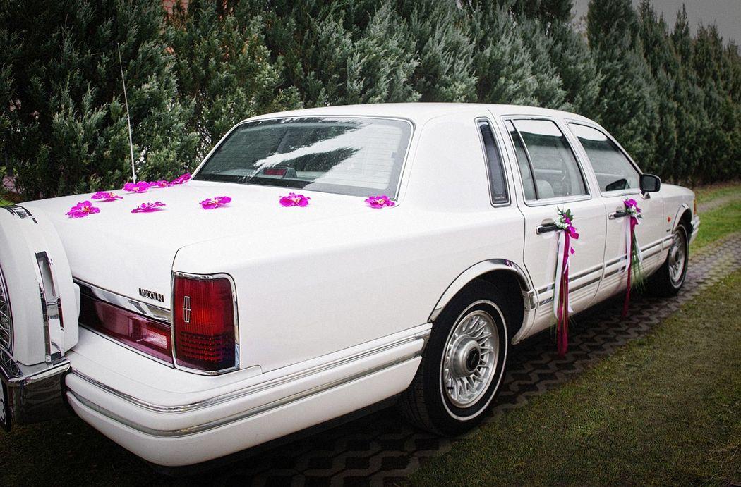 Limuzyna na ślub Lincoln