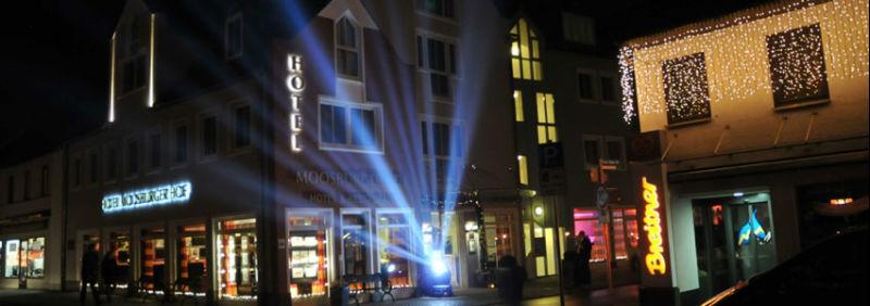 Beispiel: Hotelbeleuchtung, Foto: Hotel Moosburger Hof.