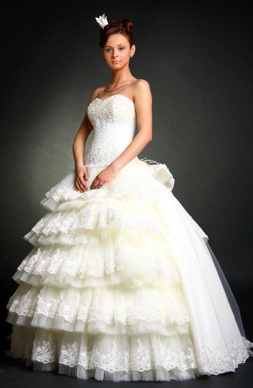 Robe de mariée couture PRINCESSE